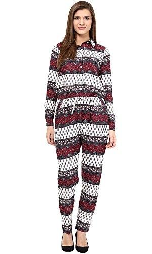The Gud Look Women's Multi Print Jumpsuit