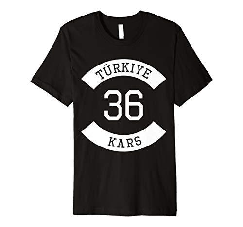 Türkiye 36 Kars T-Shirt Ayyildiz Türkei Geschenk - Kars Türkei
