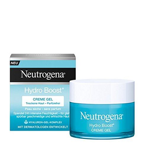 Neutrogena Hydro Boost Creme Gel - Feuchtigkeitspflege mit einer leichten, cremigen Textur - 1 x 50 ml
