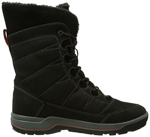 Ecco Ladies Snow Lite Snow Boots Black (nero / Picante 58861)