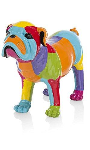 'Coco Maison Bulldog Estatua Decoración