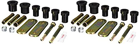 Prothane 4-1011-BL Black Rear Spring and Shackle Bushing by Prothane