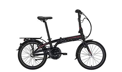 Tern City Fahrrad Falt-und Kompaktrad 20 Zoll Link C7i - Shimano 7-Gang Nabenschaltung mit Freilauf, Black