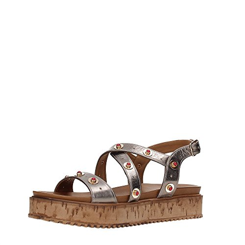 INUOVO 7161 Sandalo Donna PEWTER