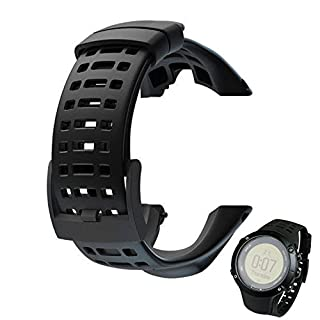 Colorful Ersatz-Armband für Suunto Ambit 3 Peak/Ambit 2 Luxus Gummi Ersatzarmband Uhrenarmband Replacement Wechselarmband watch band für Suunto Ambit 3 Peak/Ambit 2