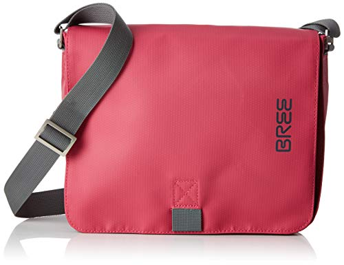 BREE Collection Unisex-Erwachsene Punch 61, Shoulder Bag S19 Schultertasche, Pink (Jazzy), 6x21x26 cm