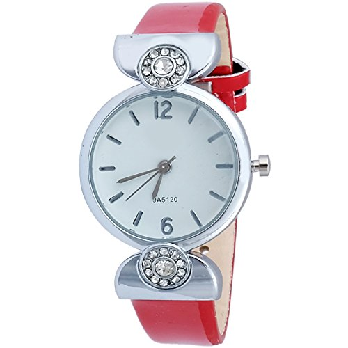 Super Drool ST2946_WT_RED  Analog Watch For Girls
