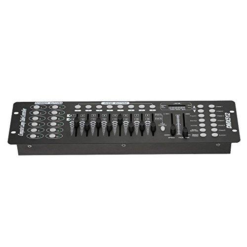 Top-Uking DMX512 Controller Konsole 192 Kanäle Stage Lighting Controller für Bühne Licht