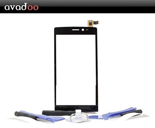 avadoo® Archos 50 Diamond Touchscreen vitre écran tactile de remplacement Display couleur noir avec outiles!