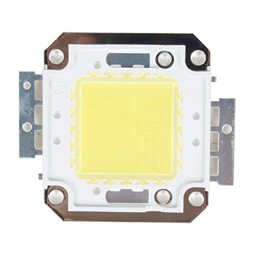 Led-flut-licht-lampe (sourcingmap® DC31-36V 51,5mmx46mm reine weiße 50W LED SMD Chip Licht Perle für Flut Lampe DE de)