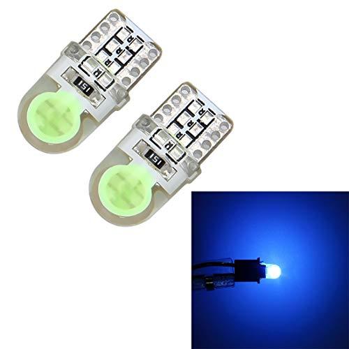Éclairage de la voiture, 2 lampes de dégagement de voiture des lumières LED de dégagement de voiture des CC 12V 1W 60LM de T10 W5W de PCS avec le décodeur, lumière blanche (SKU : Cms4067bb)