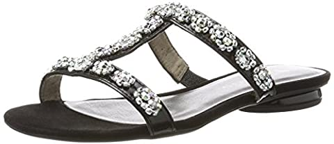 Tamaris 27191, Women's Open Toe Sandals, Black (Black Patent 018), 5 UK (38 EU)