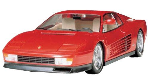 #24059 Tamiya Ferrari Testarossa 1/24 Scale Plastic Model Kit,Needs Assembly (japan import)