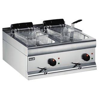silverlink-df66-600-lincat-600-double-electric-fryer-tanks-j537-2-x-3-kw-2-x-9-litre-6000-watt-silve