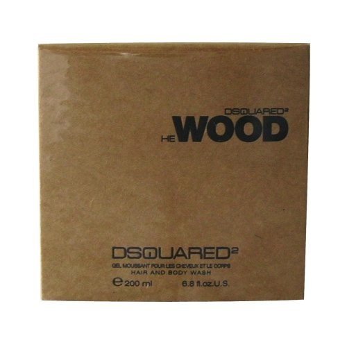 Dsquared He Wood homme/man, Hair & Body Wash, 1er Pack (1 x...