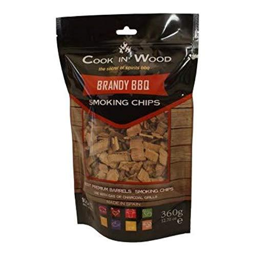 Cook en bois Brandy BBQ Chips 360 g