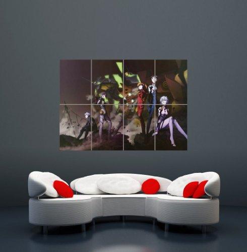 NEON GENESIS EVANGELION MANGA ANIME GIANT WALL ART PRINT POSTER PLAKAT DRUCK PICTURE WA144 Neon-plakate