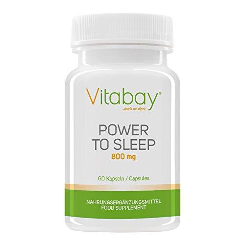 sale power to sleep erholsamer schlaf 800 mg hilft beim einschlafen wirkt entspannend. Black Bedroom Furniture Sets. Home Design Ideas