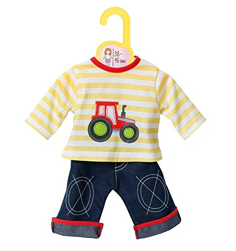 Baby-puppe Shirt (Zapf Creation 870037 - Dolly Moda Jeans mit Shirt, 38-46 cm)