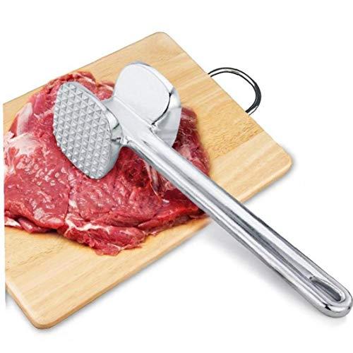 Angoter 20x5.5cm ablandador Carne aleación Aluminio
