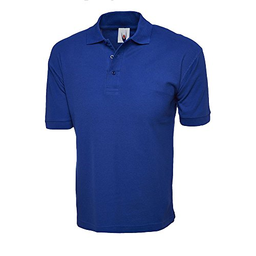 100% Baumwolle Shirt Short Sleeve Polo, Sport, Freizeit, Arbeit Workwear Uniform Navy