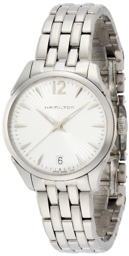 Hamilton Women's Analogue Quartz Watch with Stainless Steel Strap H42211155