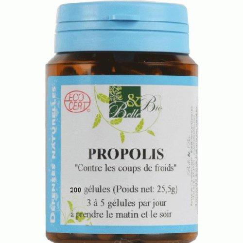 Belle et Bio Propolis Contre les coups de froids 200 gélules 85g