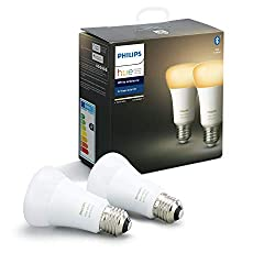 Philips Hue White Ambiance E27 Doppelpack 2x806lm Bluetooth 8.5W = 60W [Energieklasse A+]
