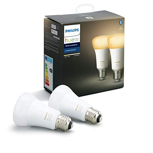 Hue White Ambiance E27 Doppelpack 2x806lm Bluetooth