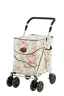 Sholley Deluxe Jackie Clover Edition Shopping Trolley in pale