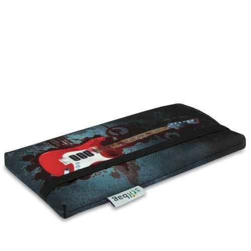 Stilbag Tasche 'MIKA' für Apple iPhone 4/4S - Design: Fairy Tree Bloody Guitare