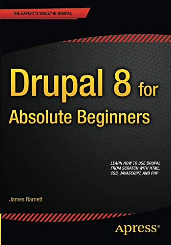 drupal 8 buch Drupal 8 for Absolute Beginners