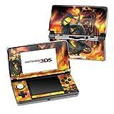 Nintendo 3DS Skin Schutzfolie 4-teilig für alle Seiten Design Aufkleber Sticker Cover - Drachen Dragon Wars