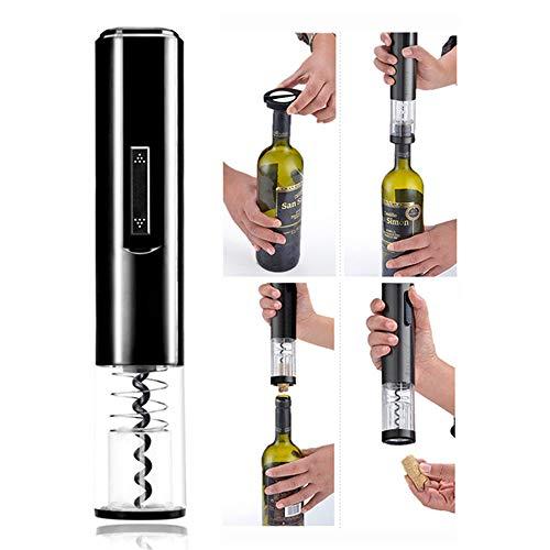 omatischer Rotwein-flaschenöffner Automatischer Rückzug-korken-flaschenglas-korken-Öffner-trauben-Wein-Flaschen-hölzerne Stopper-Öffner ()
