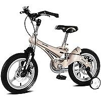 LETFF Bicicleta Plegable para Niños, Bicicleta Plegable De 16 Pulgadas con Aleación De Magnesio Y