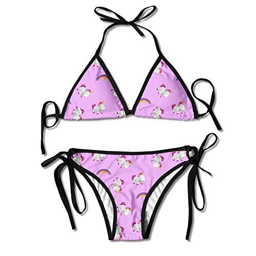 37e6bbdef88a55 Women's Small Unicorn Family Sexy Bikini Swimsuit Bathing Suits
