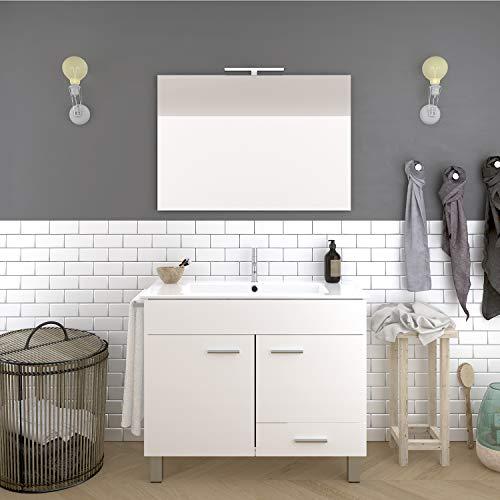 Mueble de baño con toallero