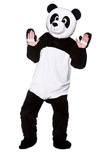 Struts Fancy Dress Erwachsene Größe Maskottchen Panda Kostüm