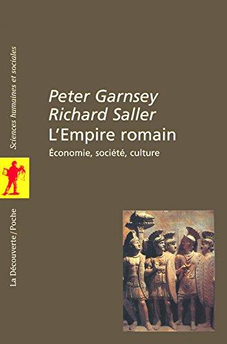 L'Empire romain par Peter Garnsey, Richard Saller