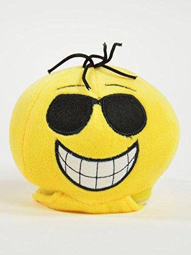 BUSDUGA - Laber-Gesicht / Emoticon Gesicht - LABERT nach und VIBRIERT dabei (Sonnenbrille)