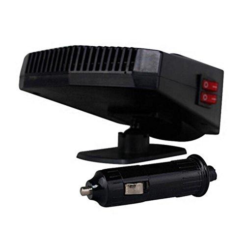 GEARS PANDA Calentador de coche desempañador coche portátil calefacción ventilador caliente desempañador Demister DC 12V