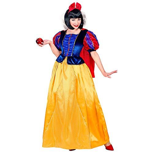 WIDMANN Disfraz de princesa de cuento de cuento 09444, para mujer, amarillo/azul, XL