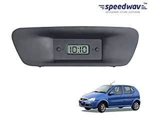 Speedwav Custom Fit Car Dashboard Clock-Tata Indica