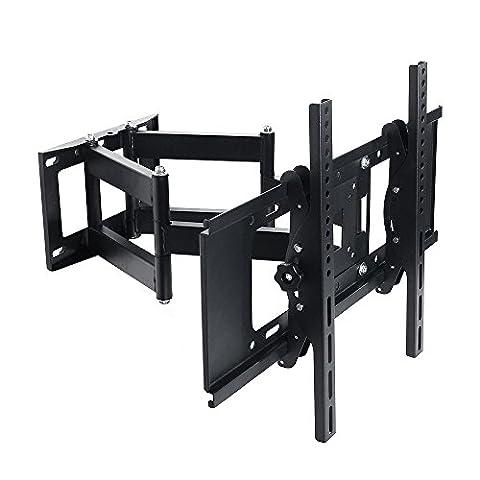 Lumsing schwenkbare neigbare TV Wandhalterung mit Doppel Arme für 37-65