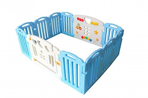 baby-playpen-kids-14-panel-safety-play-center-yard-home-indoor-outdoor-pen-by-fdw