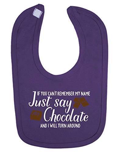 Shopagift Baby-Wenn Sie nicht mit mir Namen und Schokolade, kurz, mit lustigen Lätzchen für Neugeborene Kleinkinder -