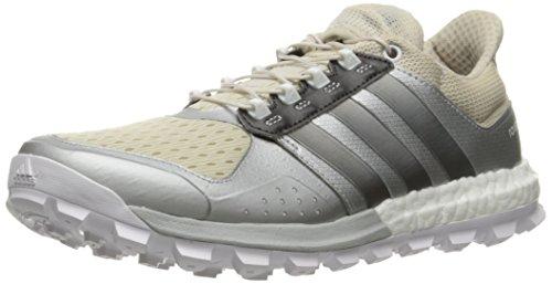 Adidas Adistar Raven Boost Women's Trail Laufschuhe - AW15 Clear Brown/Neo Iron Metallic Matte Silver