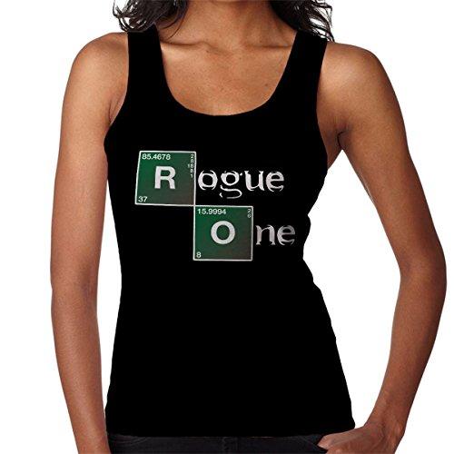 Star Wars Rogue One Breaking Bad Logo Women's Vest Black