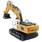 JTIH® Toys 9CH RC - Veicolo di Design per Veicolo da Costruzione - 350 Veicolo telecomandato Rotante Leggero - Un Regalo Ideale per Chi Desidera sperimentare Un Costruttore