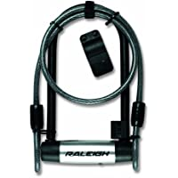 Raleigh U Lock and Cable, 115mmx292mm